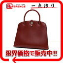 "Hermes handbags ""Dalby MM"" Bock scarf Rouge ash / silver fittings D inscribed ""support."""