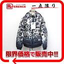 "MONCLER SABY (Sevier) women's Hooded white down jacket Leopard pattern 3 x black x grey unused ""dealing"""