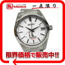 "Seiko Grand Seiko spring drive power reserve AJHH original qualified model mens watch automatic unused SS white letter Board SBGA129 9R65-0BX0 ""enabled."""
