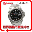 """Rolex Explorer 2 mens watch black letter Edition SS automatic K-16570 finishing your beauty products """"enabled."""""""