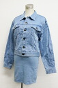 Amodu vivi collaboration denim G-Jean & skirt set up S blue s correspondence.""