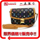 "Louis Vuitton Monogram multicolor ""Sologne"" shoulder bag Noir M92639 ""enabled."""