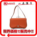 "Hermes Colorado MM shoulder bag vashriege × toirschebron brick silver fittings I ever-good as new ""support."""