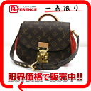 "Louis Vuitton Monogram Eden PM 2WAY shoulder bag Rouge M40731 ""enabled."""