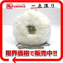 """Chanel Angola far bijoux with chain shoulder bag white """"support."""""""