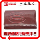 Cartier Cartier happy birthday 6-key case enamel Cafe Bordeaux L3000929 beauty products used