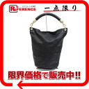 "Chanel lambskin CC one-shoulder Tote Bag Black / Matt ""response."""