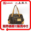 "Louis Vuitton Monogram ""rivet bag"" handbag M40140 ""response."""