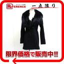 """Rienda fur coat S Black s correspondence."""""""