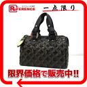 """Louis Vuitton Monogram Eclipse speedy 30 handbag mini Boston Noir M40243 unused """"response."""""""