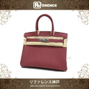 "☆ rare ☆ best handbags Hermes Birkin 30 Vash-fjord Bois-de-Rose silver bracket R ticking ""response.""-02P05Apr14M"