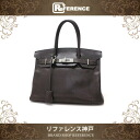 "Best Hermes handbag Birkin 30 Epson chocolate silver bracket L ticking ""response."""