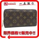 "Louis Vuitton Monogram ""zippy wallet"" zip around wallet M60017 ""enabled."""