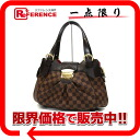 "Louis Vuitton Damier Sistine PM bag N41542 beauty products ""enabled."""
