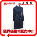 "Celine coat 38 Navy ""compatible."""