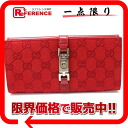 "Gucci Jackie GG two bi-fold wallet red beauty products ""enabled."""