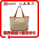 "Gucci CRAFT (craft) diamond tote bag beige / Orange 247209 ""response."""