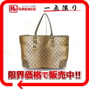 "Gucci Heart Bit (from heartbit) GG tote bag beige / ebony / metallic winter leaf 269956 ""enabled."""