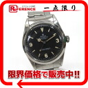 """Rolex Explorer I early model initial rivet bless automatic winding SS mens watch 1016 1959-antique """"response."""""""