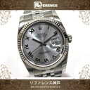 """Rolex Datejust 116234 new. Mens Watches SS×WG automatic winding like roulette random new """"support."""""""