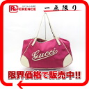 "Gucci cruise line logo tote bag pink / ivory 169949 ""enabled."""