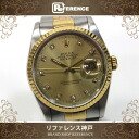 """Rolex Datejust mens watch 10 P DIA SS×YG automatic winding 16233 G? s support."""""""