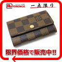 "Unused key case Louis Vuitton Damier ""multicore 6"" 6 N62630 ""enabled."""
