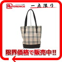 "Burberry classic check tote bag beige x Brown ""response."""