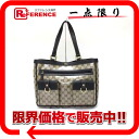 "Gucci Crystal GG tote bag beige x Brown 268639 ""enabled."""