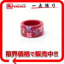 "Louis Vuitton ""Berg and farandole Strass"" ring pink M66096 beauty products ""enabled."""