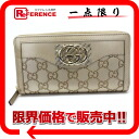 "(Sukey) Gucci SUKEY GG guccissima large zip around wallet gold 308012 still use ""compatible."""