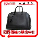 """Alma GM"" Louis Vuitton EPI leather handbags Noir M40452 good as new ""support."""