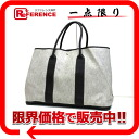 "Hermes ""garden party TGM"" toil ash large tote bag-Brae ""response."""