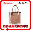 Michael Kors Michael Kors faux leather tote bag pink system used