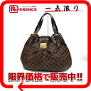 "LOUIS VUITTON Louis Vuitton Damier ""Sistine GM"" shoulder bag N41540"