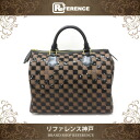 "Louis Vuitton prefall collection Payette-Damier speedy 30 handbag Noir N41262 good as new ""support."""