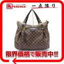 "Used LOUIS VUITTON Louis Vuitton Damier ""Evora MM"" 2-WAY shoulder bag N41131"