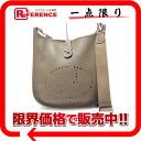 Used HERMES Hermes Evelyn 3 GM shoulder bag triyoncremans etop silver bracket R ever-new as well as KK