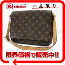 "LOUIS VUITTON Louis Vuitton Monogram ""Musette Tango"" lanyard shoulder bags M51257 used KK's"
