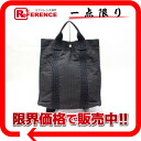 HERMES Hermes airline ad MM backpack grey used KK's