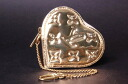 "Louis Vuitton Miro Waal heart type coin case ""Porto Monet cool"" oar (gold) M93567 fs3gm"