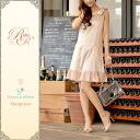 Thank you ☆ sold ★ Regina Lisle ☆ ladies / classy / sleeveless / wedding / knee / knee-length's / a line / Ribbon 10P30Nov14