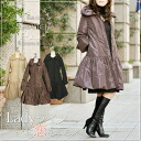 ☆ New ★ Regina Lisle ☆ courier flights ☆ ladies / fall / winter / medium / down coat / filling / elegant / large size P12Sep14