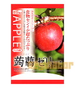 Konnyaku jelly Apple taste 6 pieces