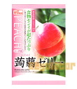 Konnyaku jelly peach flavor 6 pieces