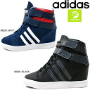 Adidas in her wedge adidas DAILY WEDGE W F98028/F98029 women's sneaker high cut ladies sneaker-