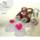 Two pairs of set ladies sandal of sandals wedge sole fee fee144F wedge sole sandals and the beach sandal ●