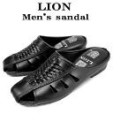 Sandals men's LION lion made in Japan men's Sandals Office Sandals Office Sandals gentleman for men 1