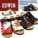 에드윈 샌들 맨즈 EDWIN EW9163 캐쥬얼 샌들구두 남성용 men's sandal ●