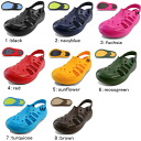●All HOLEY SOLESthe Getaway men / Lady's sandals eight colors